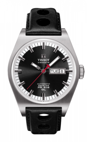 Tissot T071.430.16.051.00 : PRS 516 Automatic 40 Stainless Steel / Black / Strap