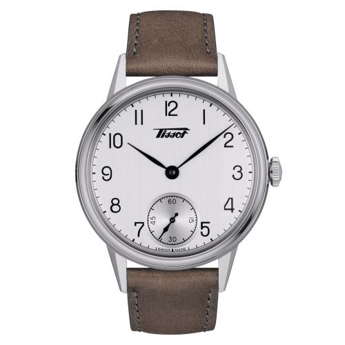 Tissot T119.405.16.037.01 : Heritage Petite Seconde 42 Stainless Steel / Silver