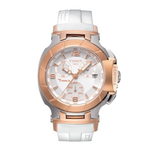 T048.217.27.017.00 : Tissot T-Race Quartz Ladies Two Tone