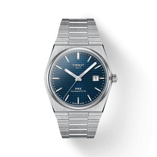 Tissot T137.407.11.041.00 : PRX Powermatic 80 Stainless Steel / Blue