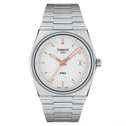 Tissot T137.410.11.031.00 : PRX Quartz Stainless Steel / Silver
