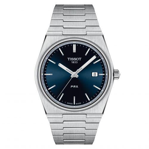 T137.410.11.041.00 : Tissot PRX Quartz Stainless Steel / Blue