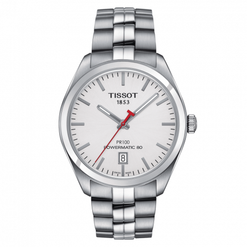 Tissot T101.407.11.011.00 : PR 100 Powermatic 80 39 Stainless Steel / Asian Games Edition