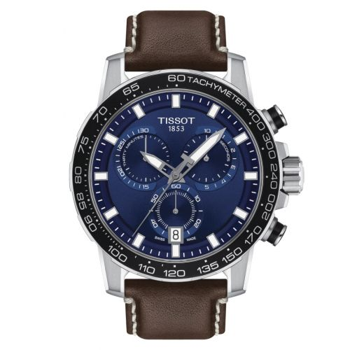 T125.617.16.041.00 : Tissot Supersport Chrono Stainless Steel / Blue