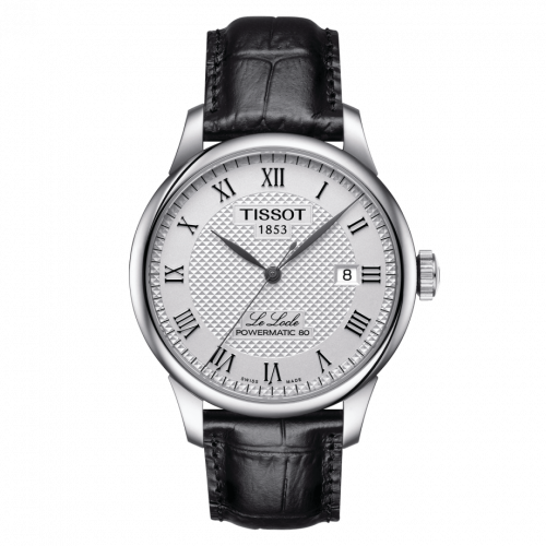 Tissot T006.407.16.033.00 : Le Locle Powermatic 80 39.3 Stainless Steel / Silver / Strap