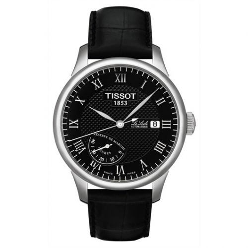 Tissot T006.424.16.053.00 : Le Locle Power Reserve 39.3 Stainless Steel / Black / Strap