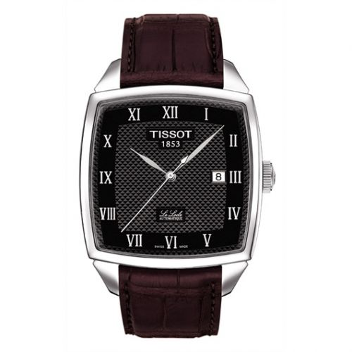 Tissot T006.707.16.053.00 : Le Locle Automatic Cushion 39 Stainless Steel / Black / Strap