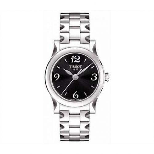 Tissot T028.210.11.057.00 : Stylis-T Quartz 29 Stainless Steel / Black / Bracelet