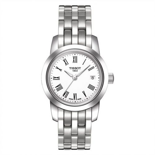 T033.210.11.013.00 : Tissot Dream Quartz 28 Stainless Steel / White / Bracelet