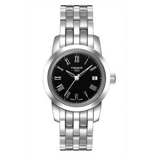 T033.21.011.053.00 : Tissot Dream Quartz 28 Stainless Steel / Black / Bracelet
