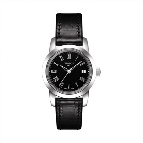 Tissot T033.210.16.053.00 : Dream Quartz 28 Stainless Steel / Black / Strap