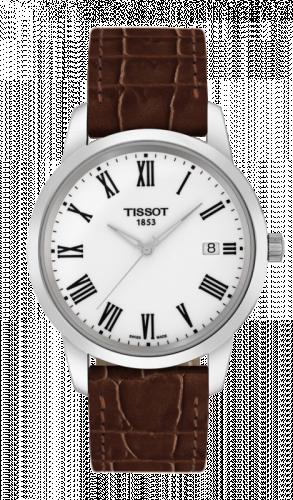 Tissot T033.410.16.013.01 : Dream Quartz 38 Stainless Steel / White / Strap