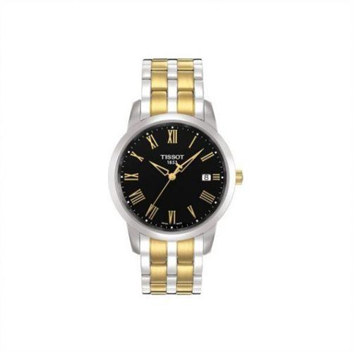 Tissot T033.410.22.053.01 : Dream Quartz 38 Stainless Steel / Yellow Gold PVD / Black / Bracelet