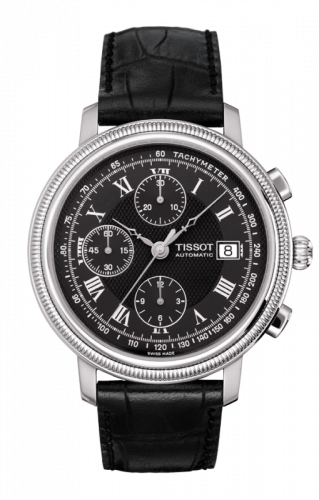 T045.427.16.053.00 : Tissot Bridgeport Automatic Chronograph Black