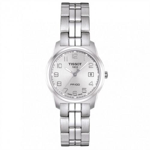Tissot T049.210.11.032.00 : PR 100 Quartz 24.5 Stainless Steel / Silver / Bracelet
