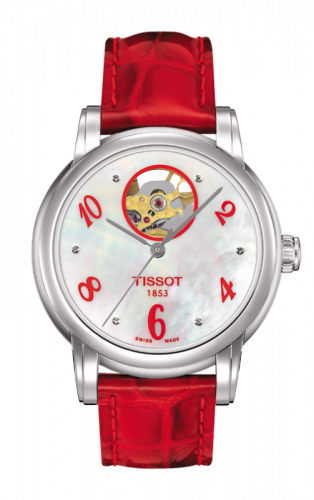 Tissot T050.207.16.116.03 : Lady Heart Red Mother-of-Pearl