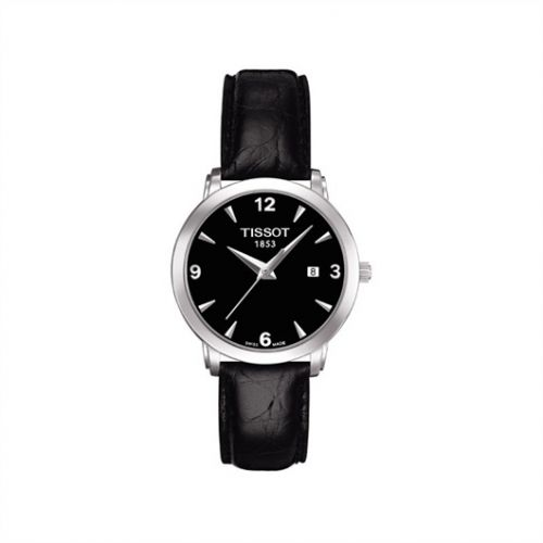 Tissot T057.210.16.057.00 : Everytime Small Stainless Steel / Black / Strap