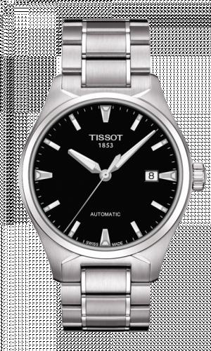 Tissot T060.407.11.051.00 : T-Tempo Automatic Stainless Steel / Black / Bracelet