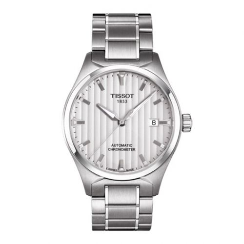 Tissot T060.408.11.031.00 : T-Tempo Automatic Stainelss Steel / Silver / Bracelet