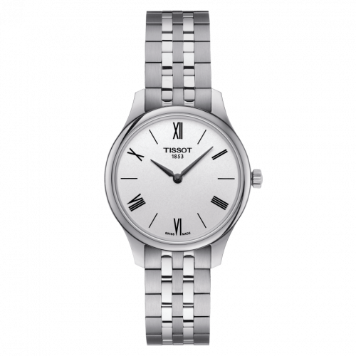 T063.209.11.038.00 : Tissot Tradition 5.5 Lady 31 Stainless Steel / Silver / Bracelet