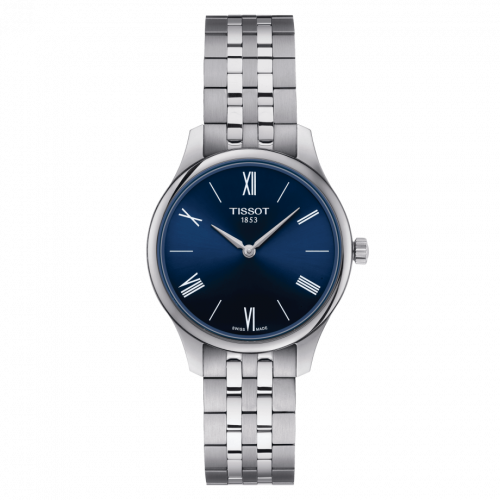 T063.209.11.048.00 : Tissot Tradition 5.5 Lady 31 Stainless Steel / Blue / Bracelet
