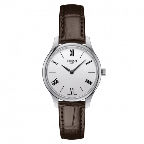 T063.209.16.038.00 : Tissot Tradition 5.5 Lady 31 Stainless Steel / Silver