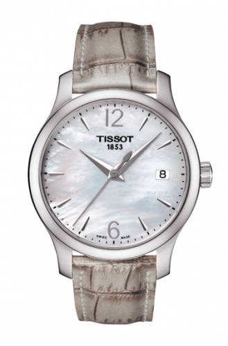 T063.210.17.117.00 : Tissot Tradition Lady Stainless Steel / MOP