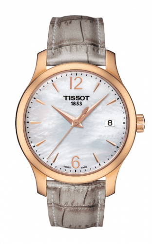 T063.210.37.117.00 : Tissot Tradition Lady PVD Rose Gold / MOP