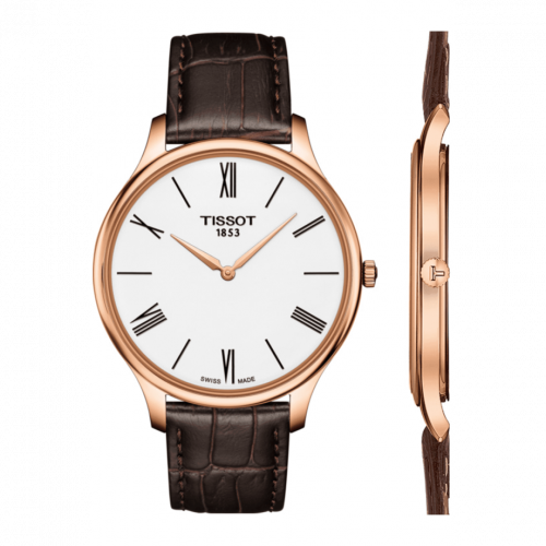 T063.409.36.018.00 : Tissot Tradition 5.5 Rose Gold PVD