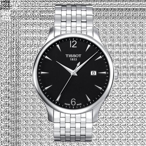 T063.610.11.057.00 : Tissot Tradition Stainless Steel / Black / Bracelet