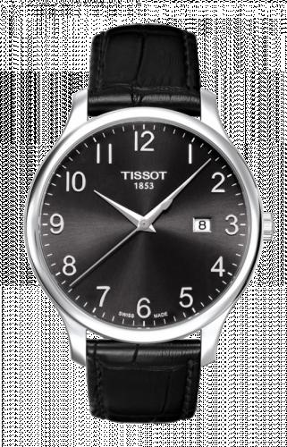 T063.610.16.052.00 : Tissot Tradition Quartz 42 Stainless Steel / Black / Strap