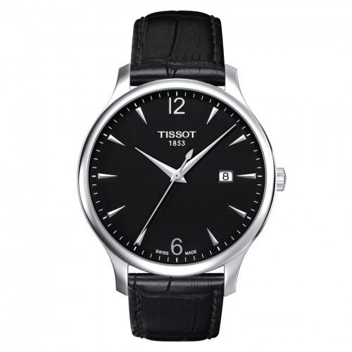 T063.610.16.057.00 : Tissot Tradition Stainless Steel / Black