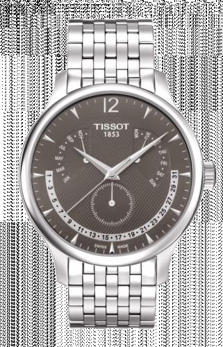 T063.637.11.067.00 : Tissot Tradition Quartz Retrograde Perpetual Calendar