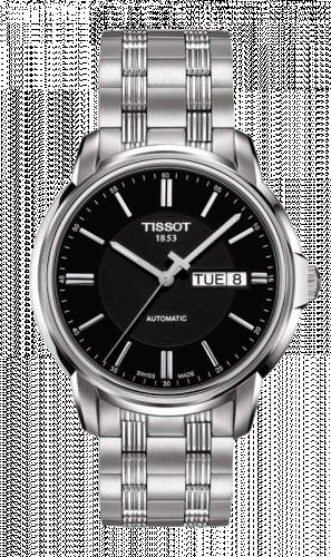 Tissot T065.430.11.051.00 : Automatics III Black