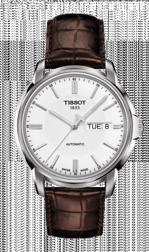 Tissot T065.430.16.031.00 : Automatics III Silver / Strap