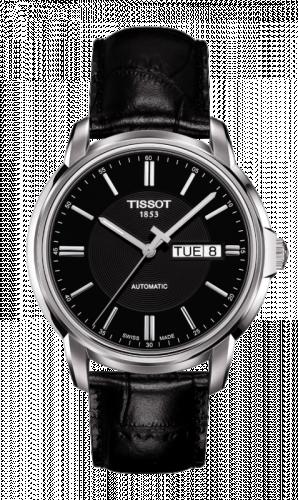 Tissot T065.430.16.051.00 : Automatics III Black / Strap