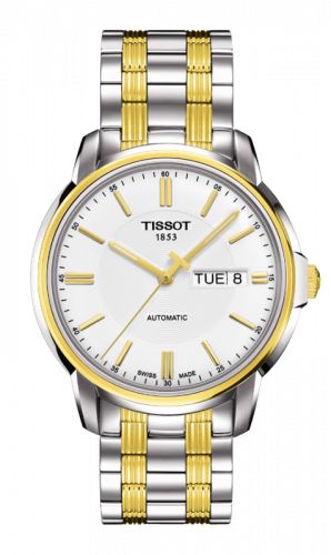 Tissot T065.430.22.031.00 : Automatics III Two Tone