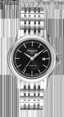 Tissot T085.207.11.051.00 : Carson Automatic 29.5 Stainless Steel / Black / Bracelet
