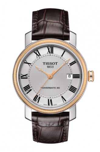 T097.407.26.033.00 : Tissot Bridgeport Powermatic 80 Two Tone / Silver Roman