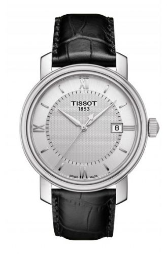 T097.410.16.038.00 : Tissot Bridgeport Quartz Stainless Steel / Silver