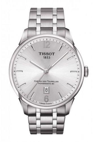 Tissot T099.407.11.037.00 : Chemin des Tourelles Powermatic 80 Silver / Bracelet