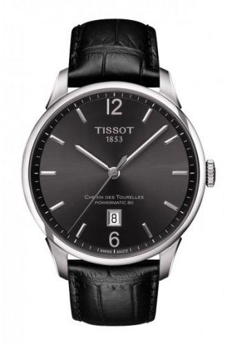 Tissot T099.407.16.447.00 : Chemin des Tourelles Powermatic 80 Black