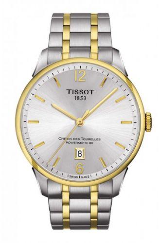 Tissot T099.407.22.037.00 : Chemin des Tourelles Powermatic 80 Two Tone / Silver / Bracelet