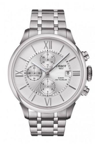 Tissot T099.427.11.038.00 : Chemin des Tourelles Automatic Chronograph Stainless Steel / Silver / Bracelet