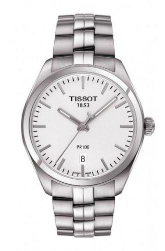 Tissot T101.410.11.031.00 : PR 100 Quartz 39 Stainless Steel / Silver / Bracelet