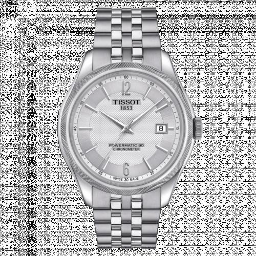T108.408.11.037.00 : Tissot Ballade Powermatic 80 41 Stainless Steel / Silver / Bracelet