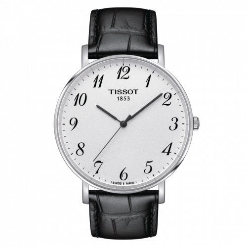 Tissot T109.610.16.032.00 : Everytime Large Stainless Steel / Silver / Strap