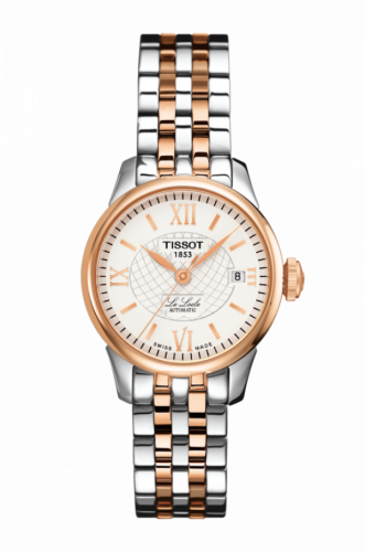 T41.2.183.33 : Tissot Le Locle Automatic 25.3 Stainless Steel / Rose Gold /