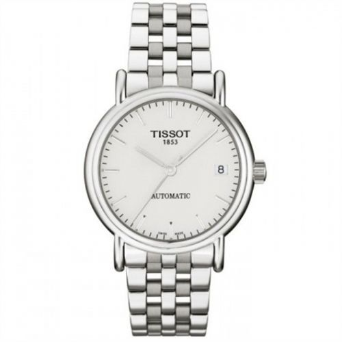 Tissot T95.1.483.31 : Carson Automatic 35.5 Stainless Steel / Silver / Bracelet