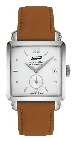Tissot T66.1.819.33 : Heritage 2005 Stainless Steel / Silver / Strap